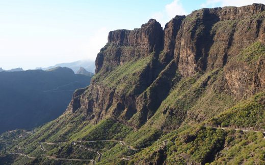 Road to Masca Tenerife